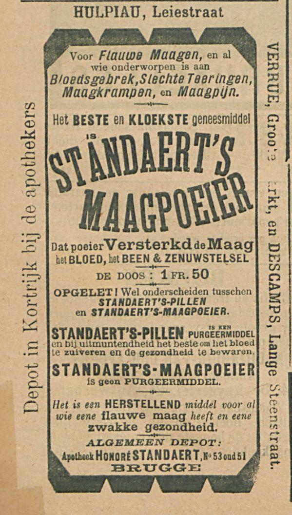 STANDAERTS MAAGPOEIER