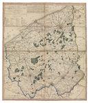 Westflandrica - De nieuwe kaart van het Leiedepartement, onderverdeeld in 39 cantons
