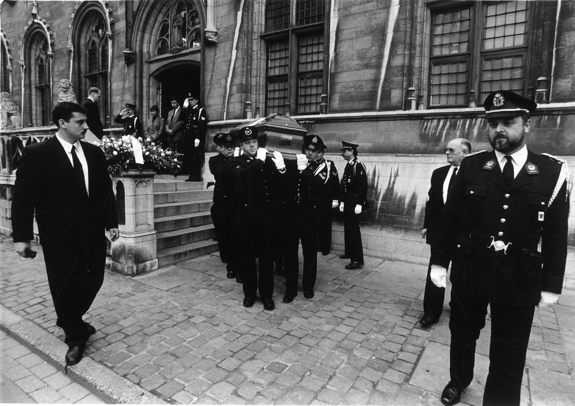 Begrafenis van Ivo Jozef Lambrecht op het stadhuis