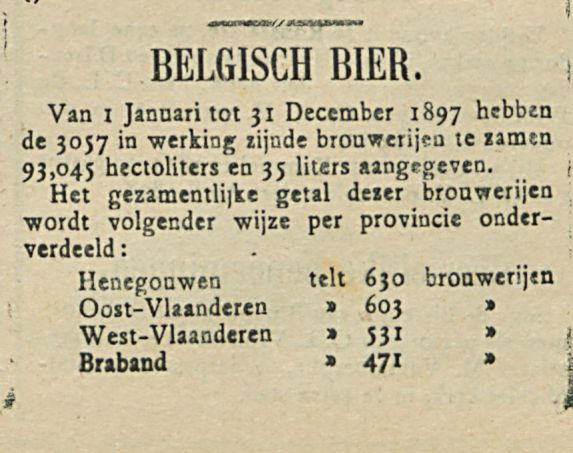 BELGISCH BIER