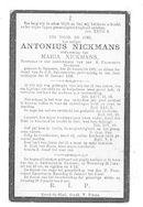 Antonius Nickmans