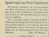 Spoorwegen van West Vlaanderen