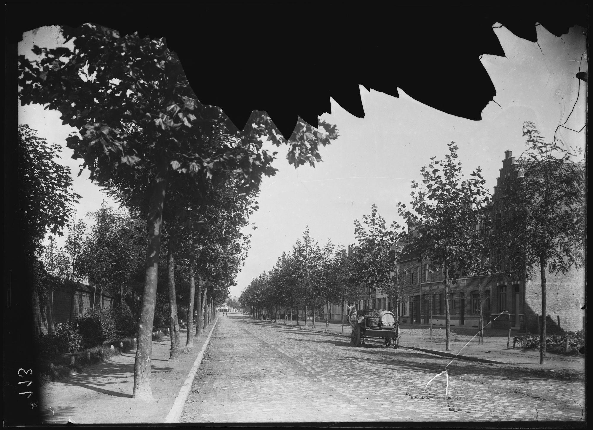 Marksesteenweg circa 1905