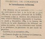TRIBUNAL DE COMMERCE
