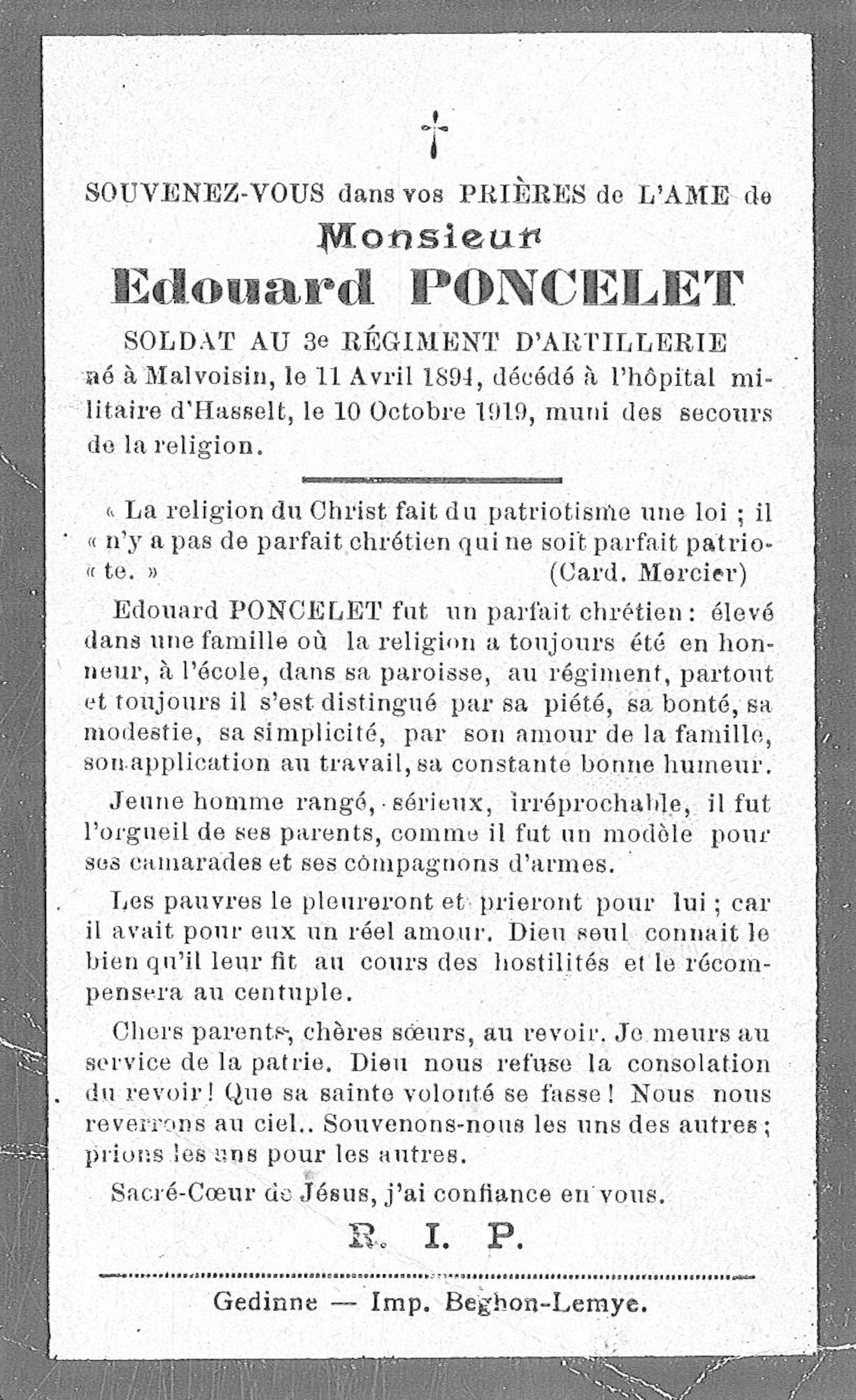 Edouard Poncelet