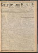 Gazette Van Kortrijk 1917-11-17