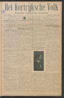 Het Kortrijksche Volk 1912-02-04 p1