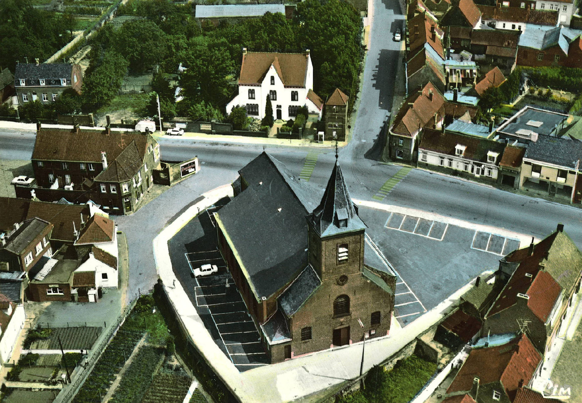 Luchtfoto Aalbeke