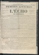 L'echo De Courtrai 1853-10-05