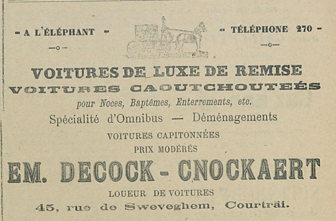 EM DECOCK CNOCKAERT