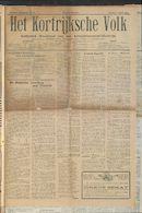 Het Kortrijksche Volk 1923-04-01 p1