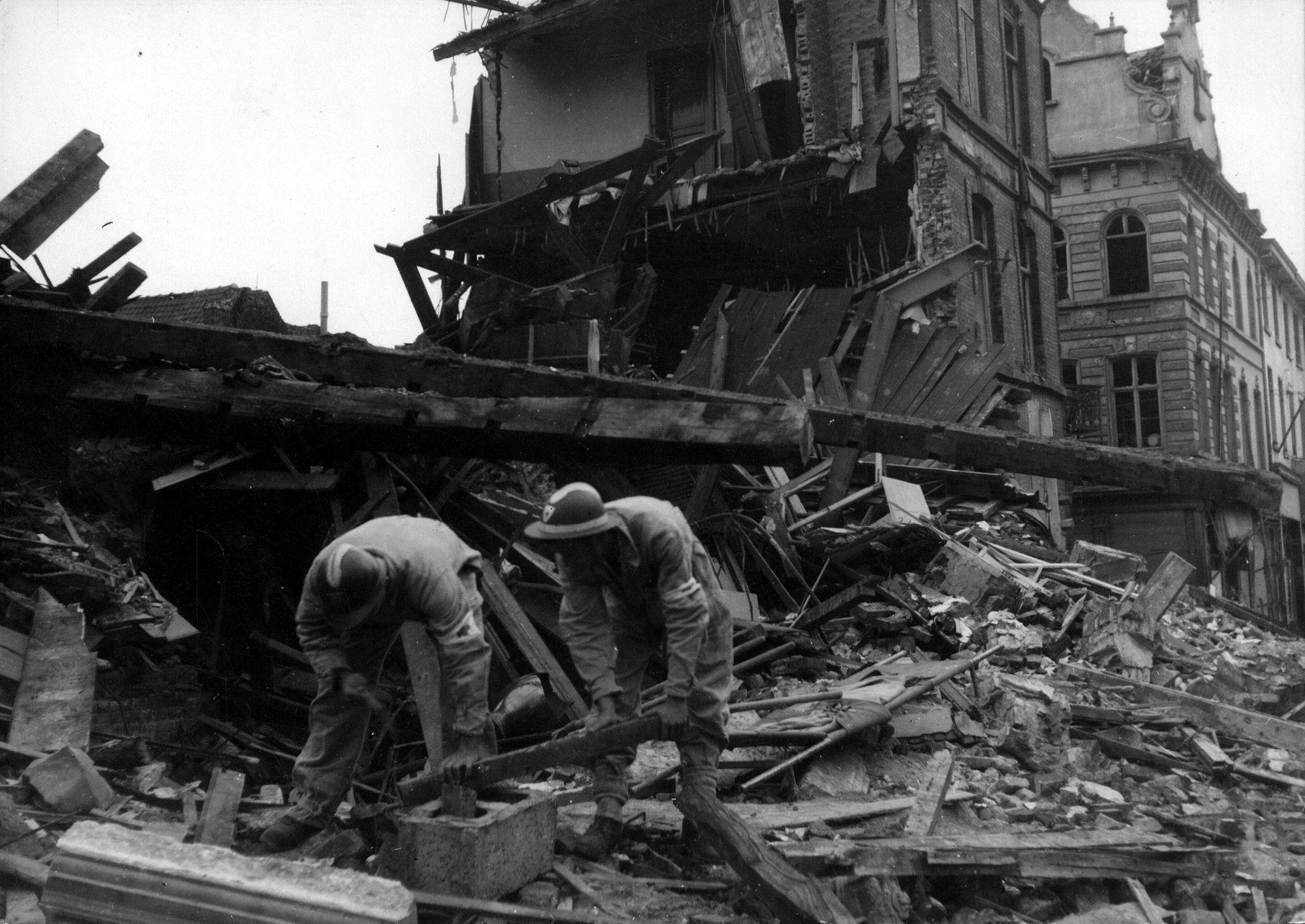 Waterpoort in 1944