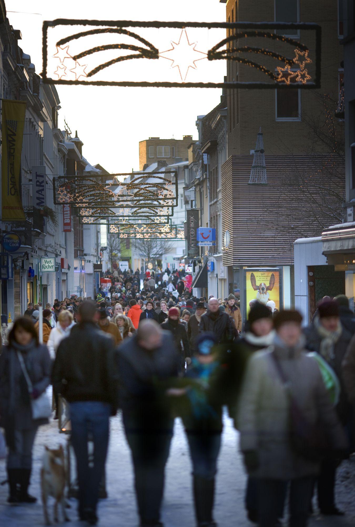 winter in Kortrijk