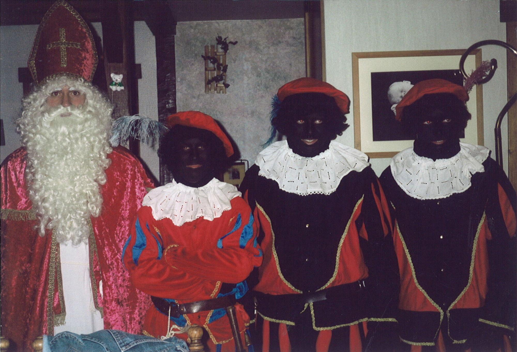 Martin Dusselier speelt Sinterklaas in Marke