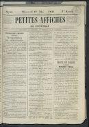 Petites Affiches De Courtrai 1841-05-19 p1