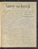 Gazette Van Kortrijk 1913-10-16