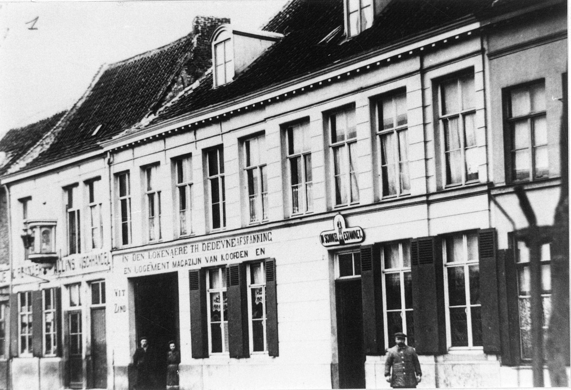 Café In Den Lokenaere en In Schinkel in de Brugsestraat