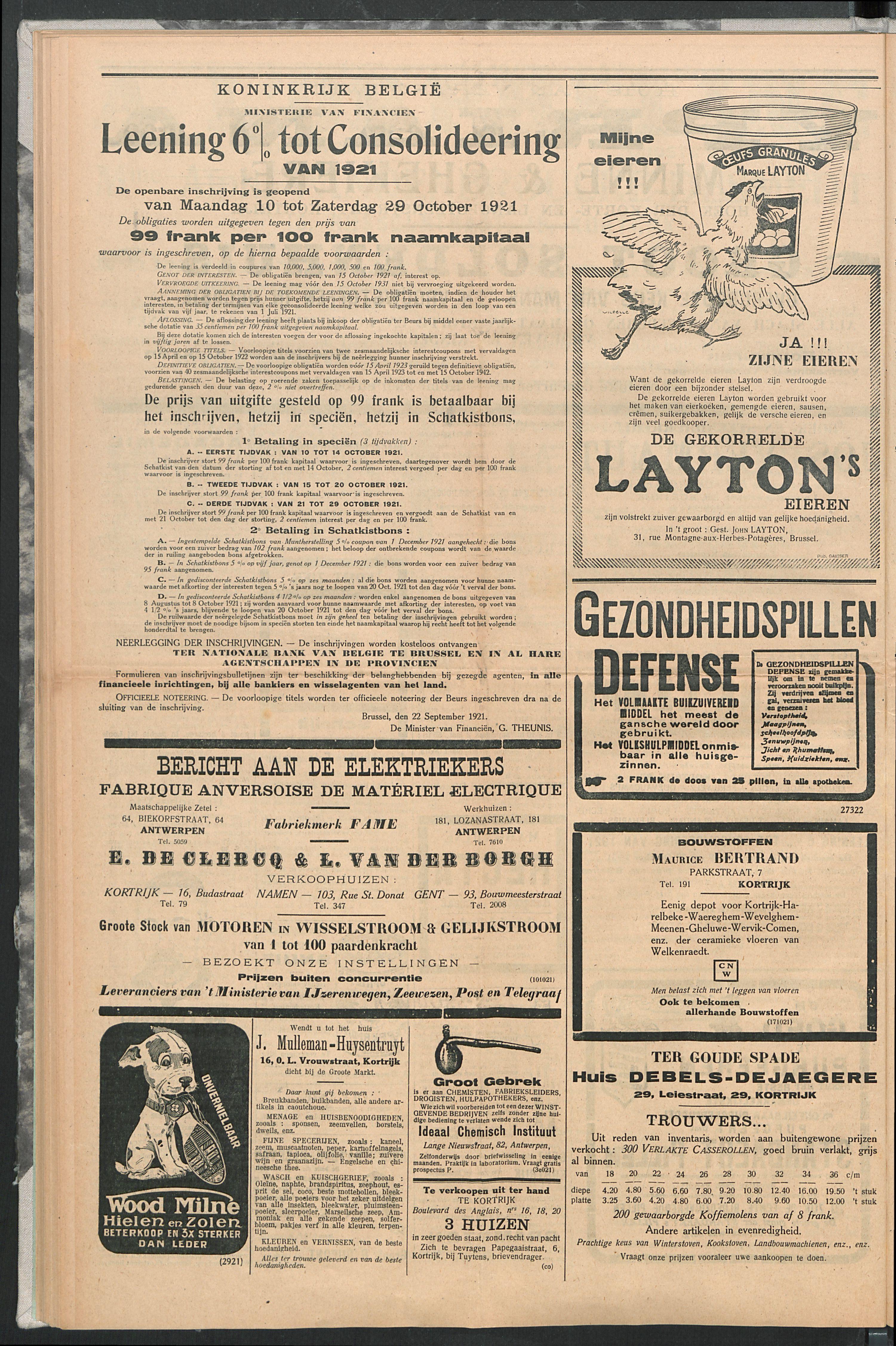 Het Kortrijksche Volk 1921-10-02 p6