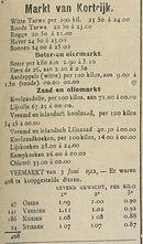 Markt van Kortnjk