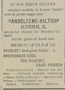 VANDELEENE HILTROP