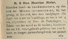 M and Mme Maurice Meier