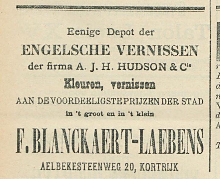 F BLANCKAERT LAEBENS