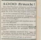 1000 frank