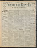 Gazette Van Kortrijk 1909-12-02 p1