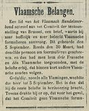 Vlaamsche Belangen