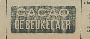 CACAO DE BEUKELAER