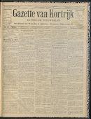 Gazette Van Kortrijk 1912-10-03