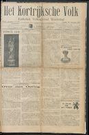 Het Kortrijksche Volk 1914-08-16