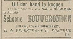 Schoone BOUWGRONDEN