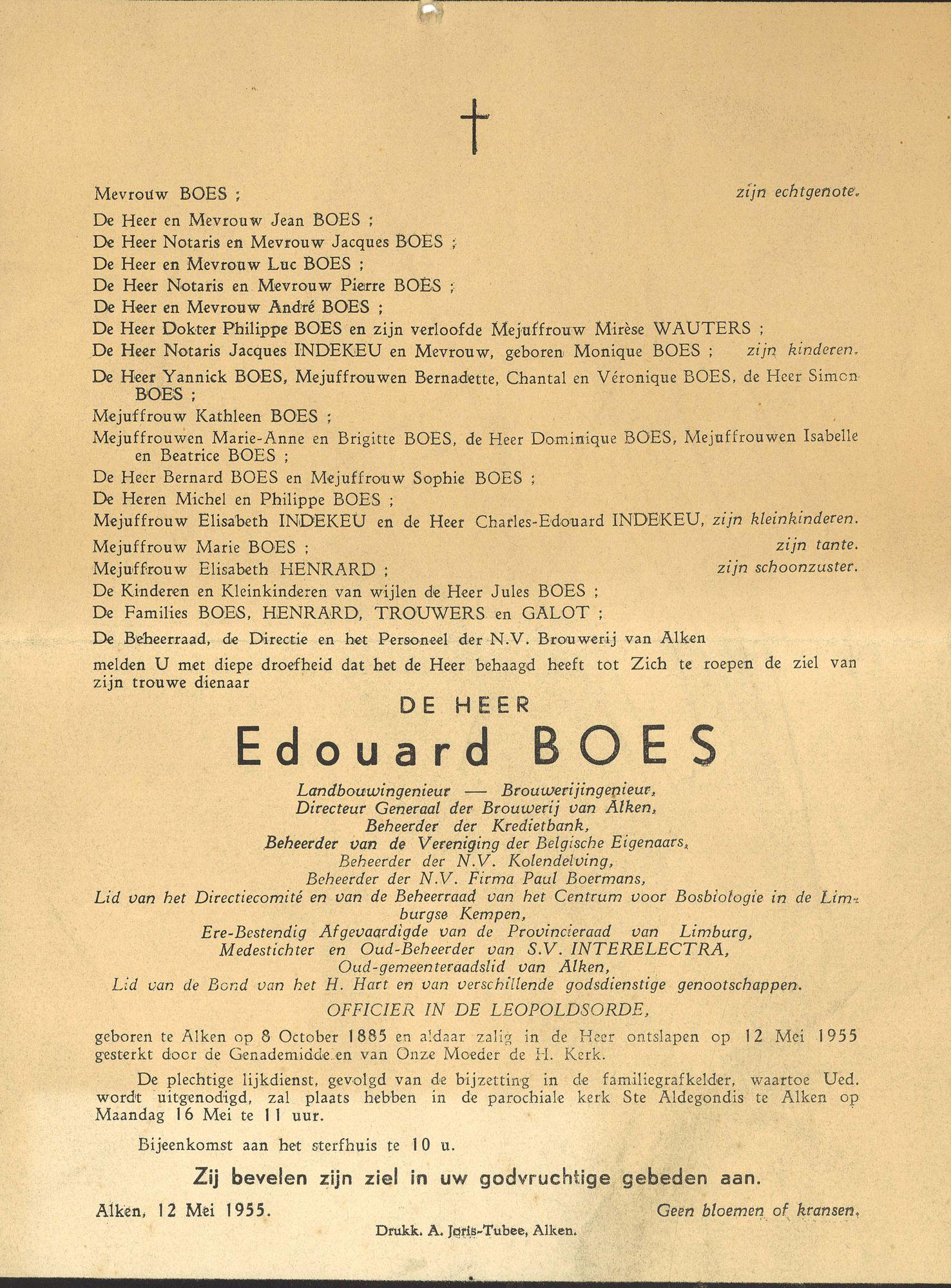 Edouard Boes