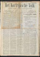 Het Kortrijksche Volk 1923-06-24