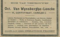 Oct Van Wynsberghe Loncke