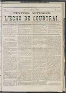 L'echo De Courtrai 1873-06-29