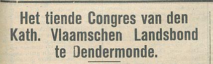 Kath Vlaamschen Landsbond