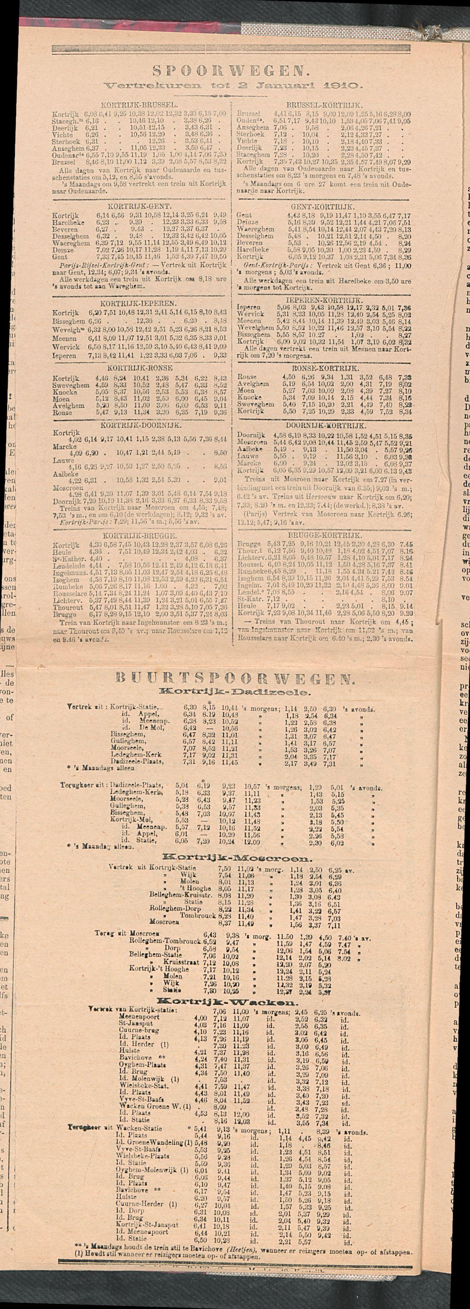 De Stad Kortrijk 1909-10-09 p4