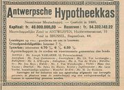 Antwerpsche Hypotheekka