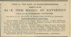BANK VOOR HANDEL