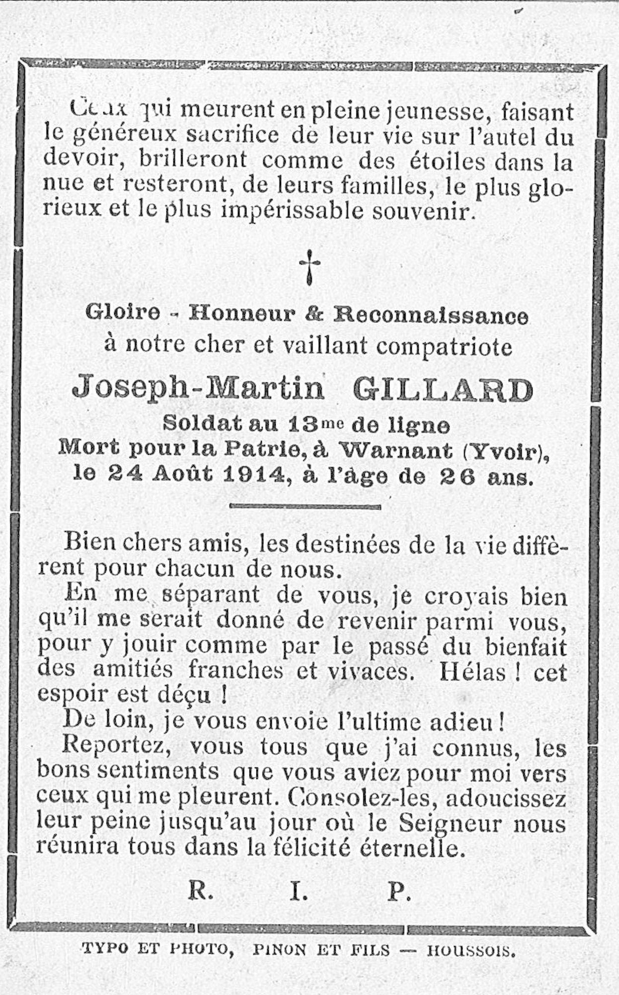 Joseph-Martin Gillard