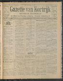 Gazette Van Kortrijk 1911-08-06 p1