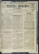 Petites Affiches De Courtrai 1841-12-23 p1