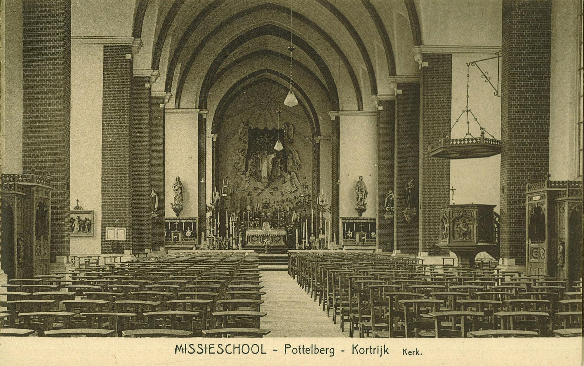 Missieschool op de Pottelberg