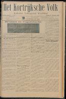 Het Kortrijksche Volk 1913-11-09