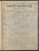 Gazette Van Kortrijk 1909-06-24