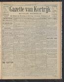 Gazette Van Kortrijk 1910-06-16 p1