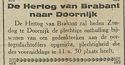 De Herlog van Brabant