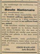 Boule Nationale